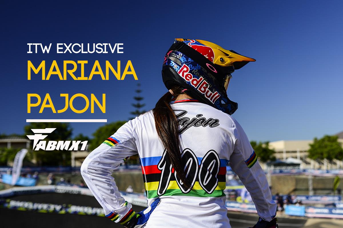 ITW EXCLUSIVE: MARIANA PAJON…