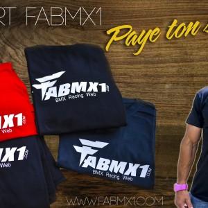 T-shirt fabmx1