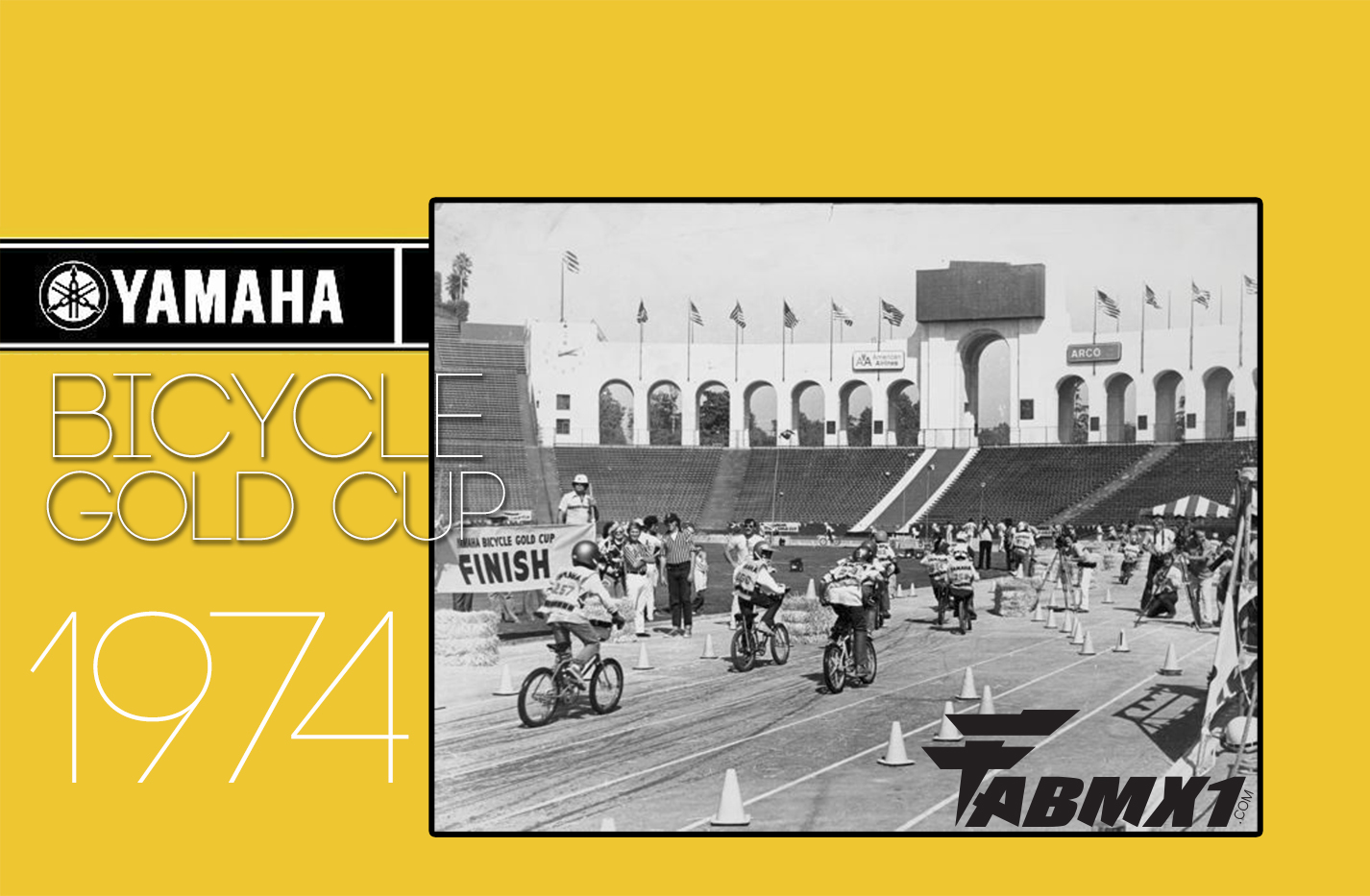 1974, YAMAHA Gold Cup. BMX IS BORN…