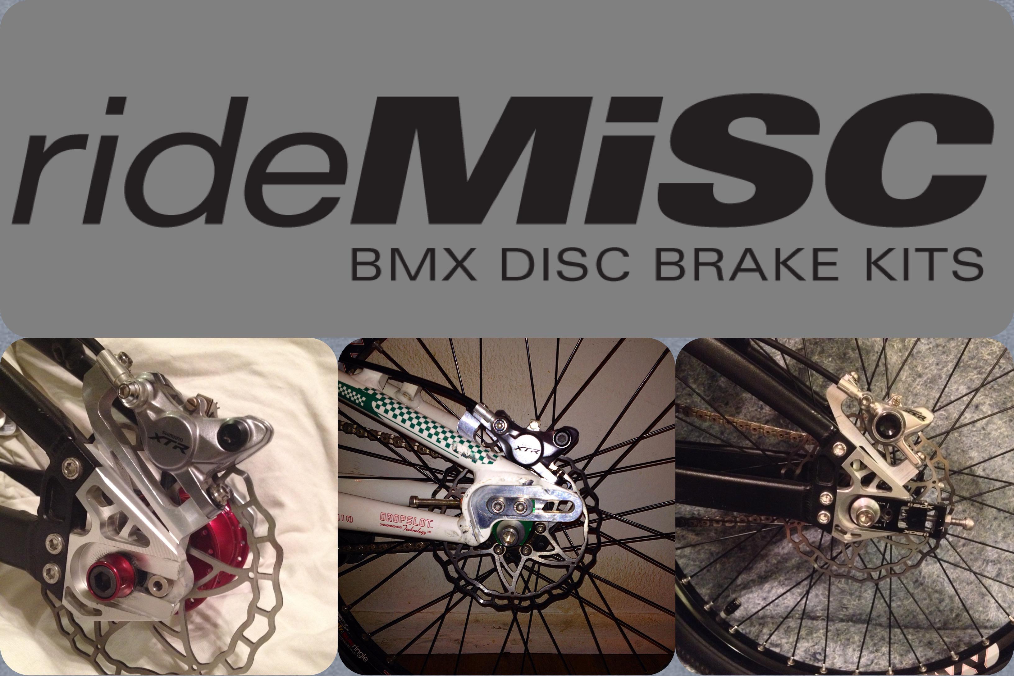 Fabmx1 » Rouler avec un disque, c'est possible avec Ride MISC !