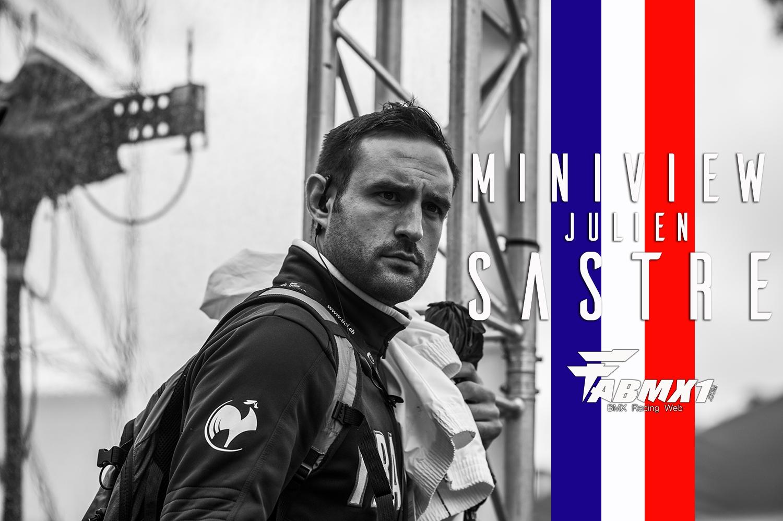 En direct de la SX CUP RD 1: ITW Julien SASTRE