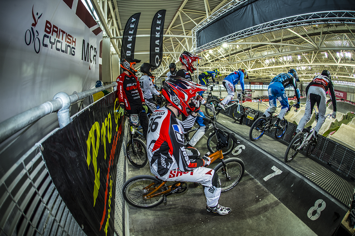 UCI SX RD 2 Manchester: Pics training