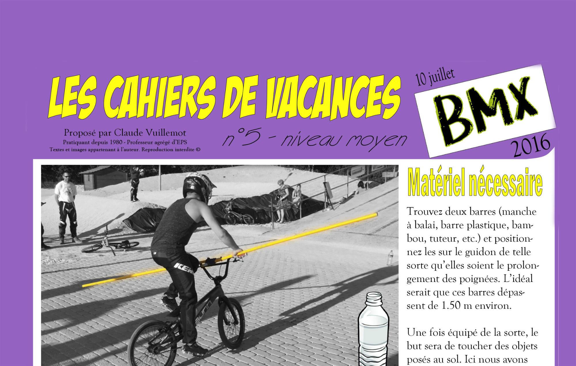 Les Cahiers de Vacances N° 5