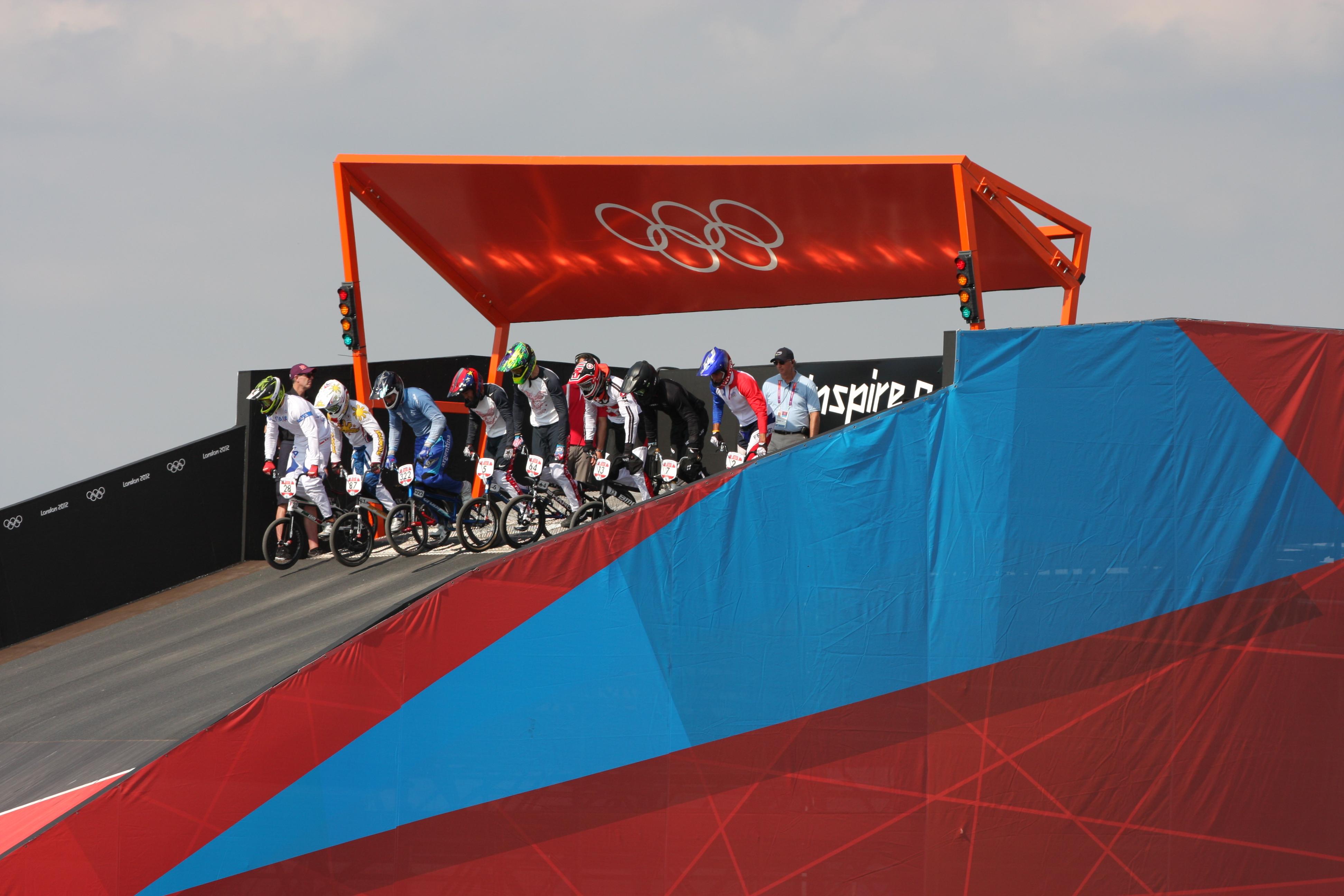 2012 London Olympics, Bmx Quarter Finals 09.08.12