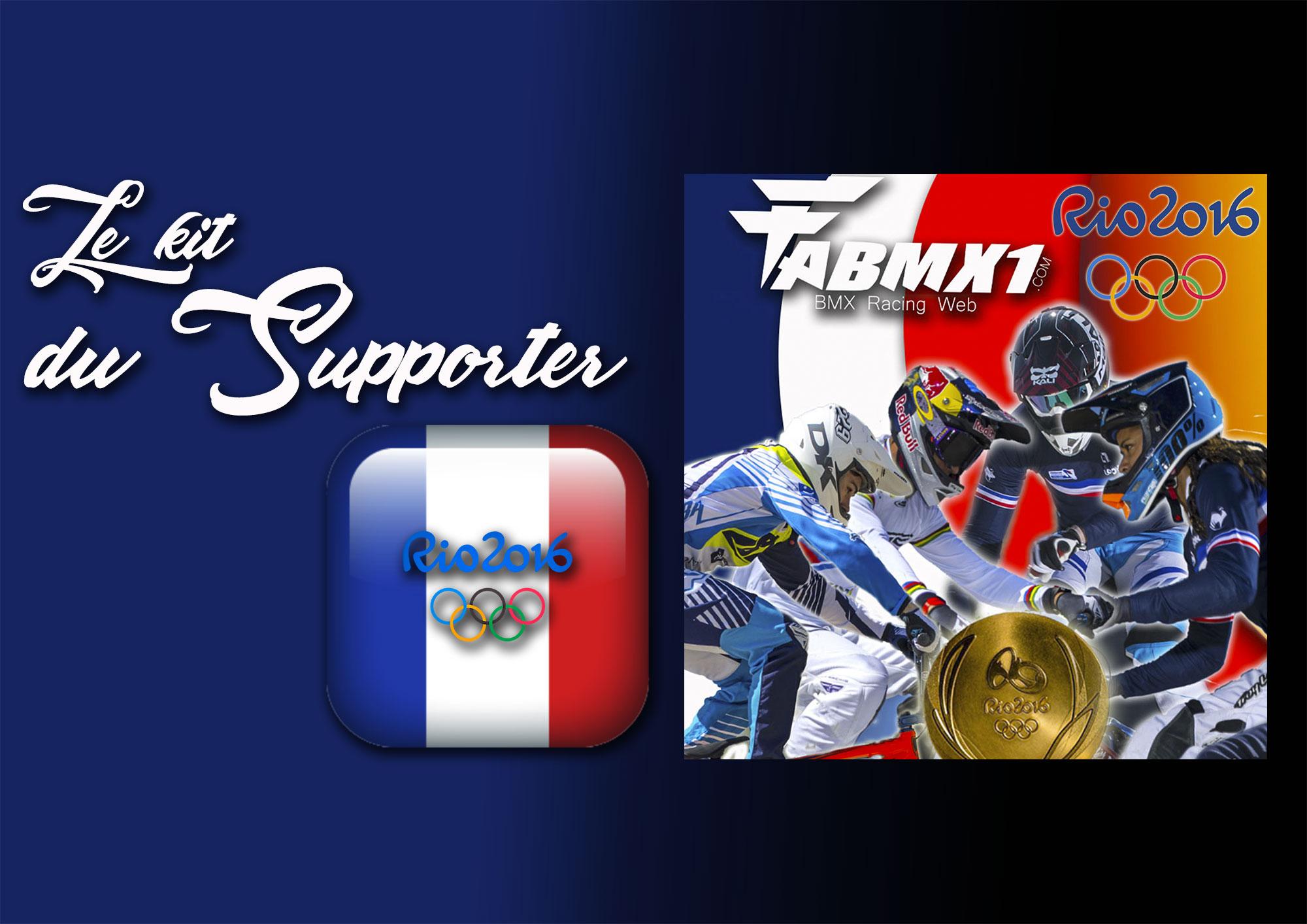 J.O RIO: Le Kit du Supporter !
