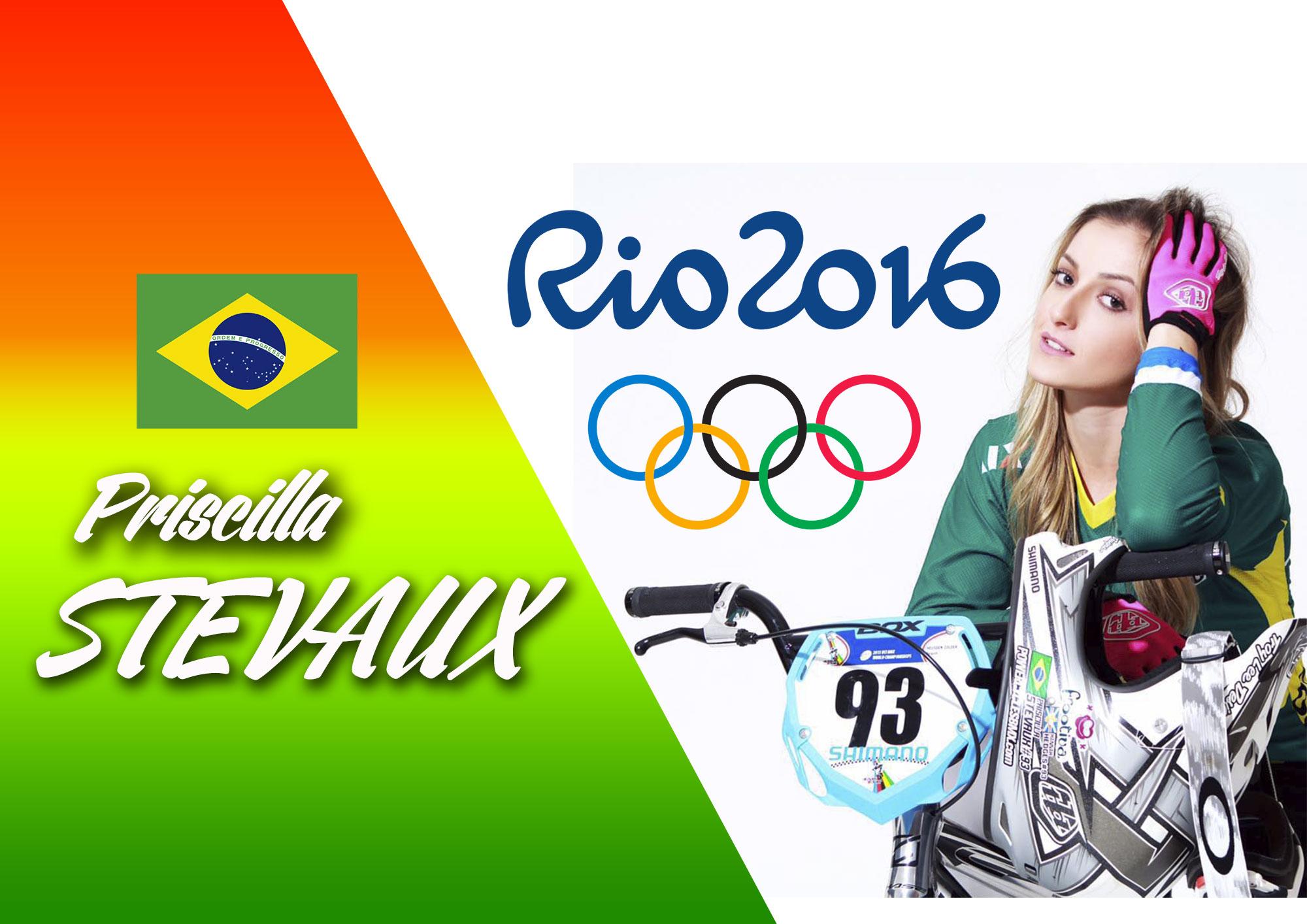 ITW JO: Priscilla STEVAUX, l'espoir brésilien