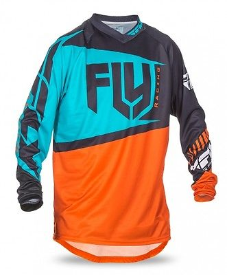 fly-racing-f16-2017-mens-mx-offroad-jersey-orange-teal