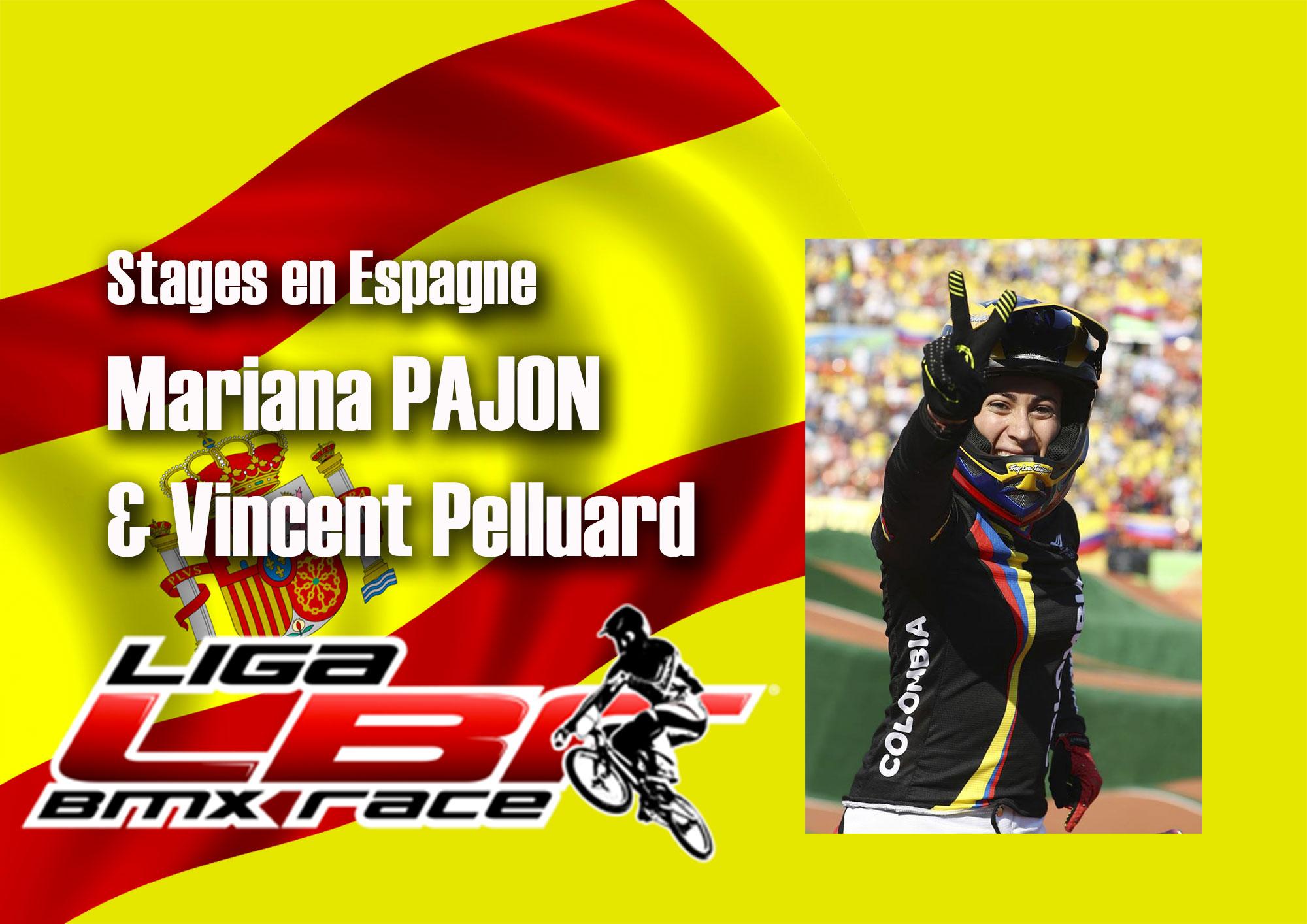 Des stages en Espagne de niveau Olympique !