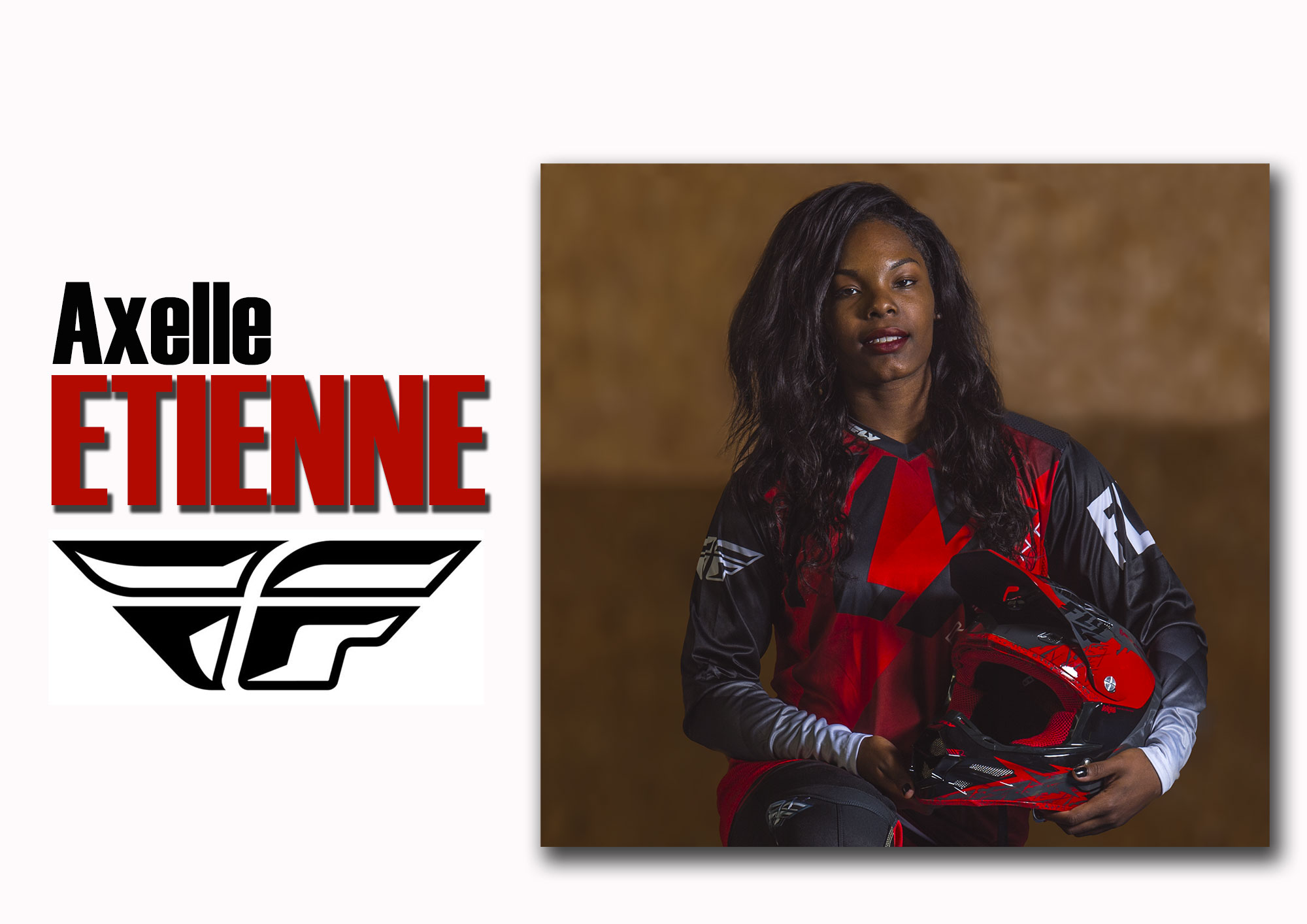 Axelle ETIENNE signe FLY RACING !