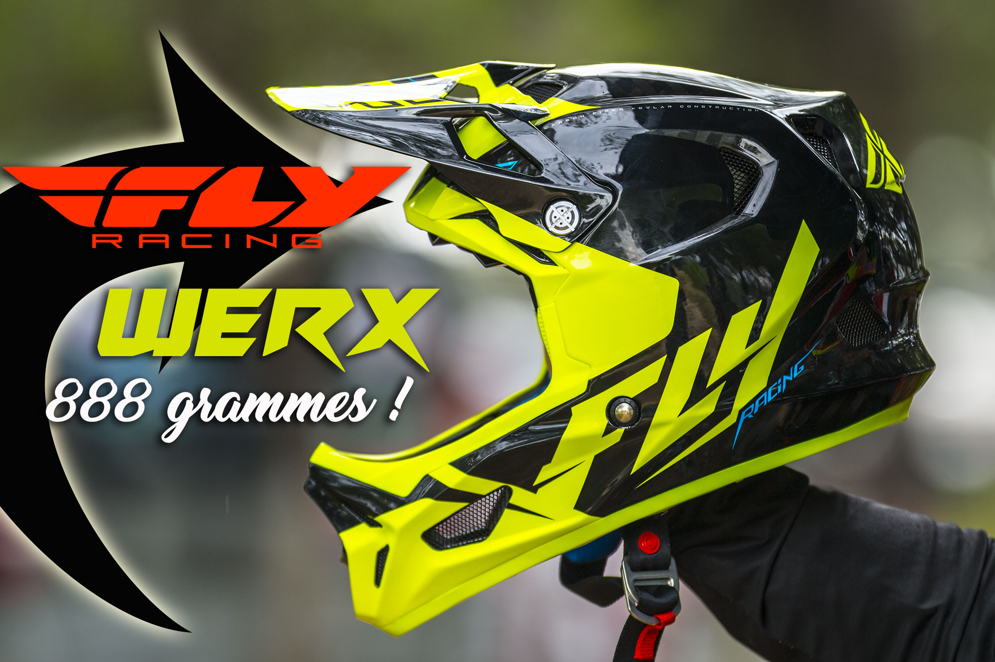 Test casque FLY RACING « WERX » 2017= Le plus léger !