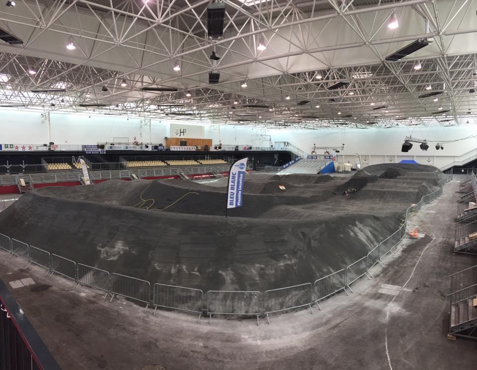 Piste de l'Indoor de Caen terminée !