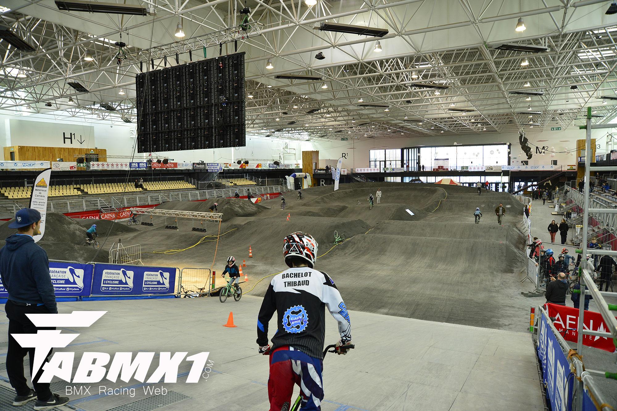 Indoor de Caen, la piste en détail