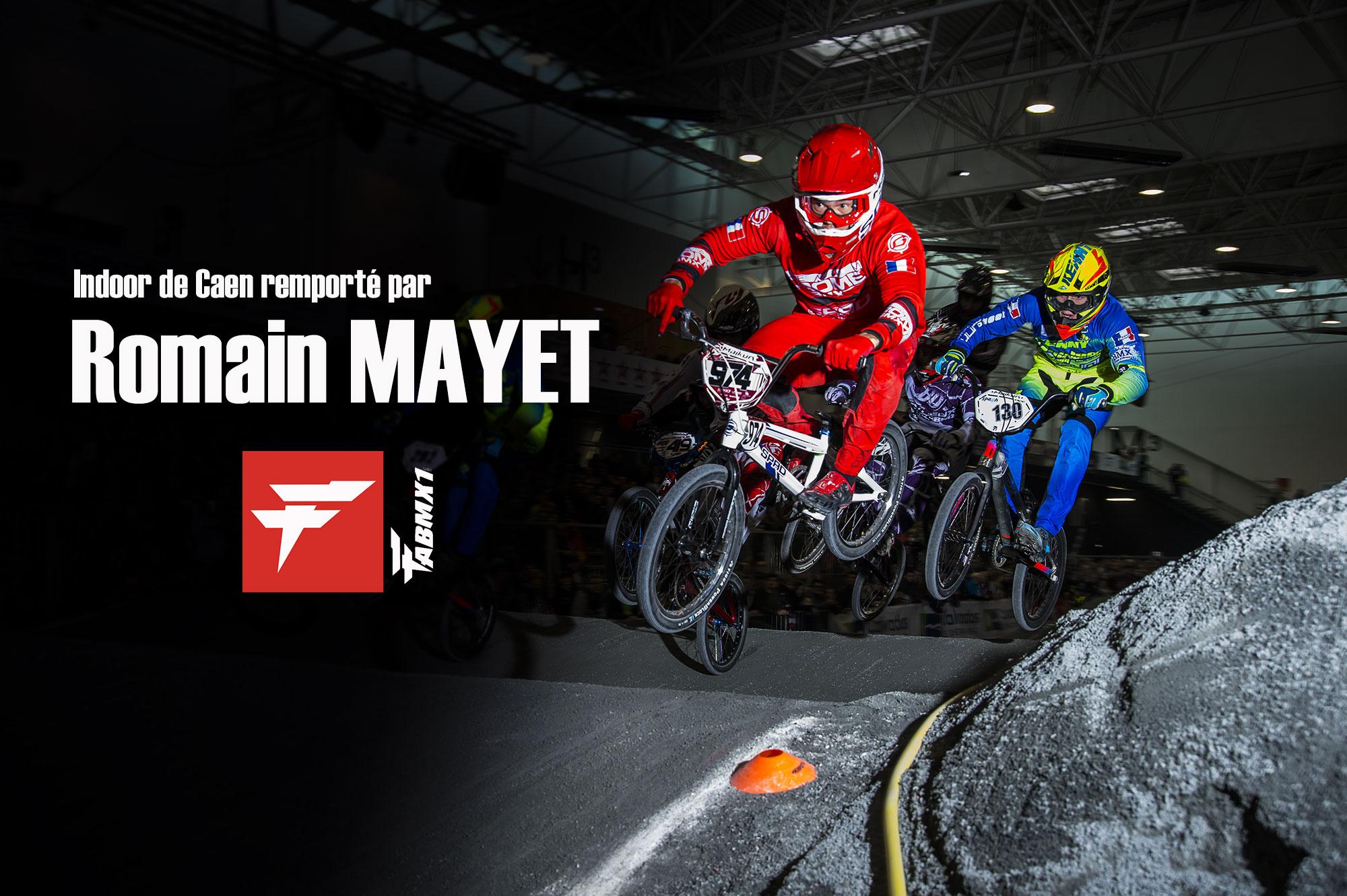 Romain MAYET remporte l'Indoor de Caen