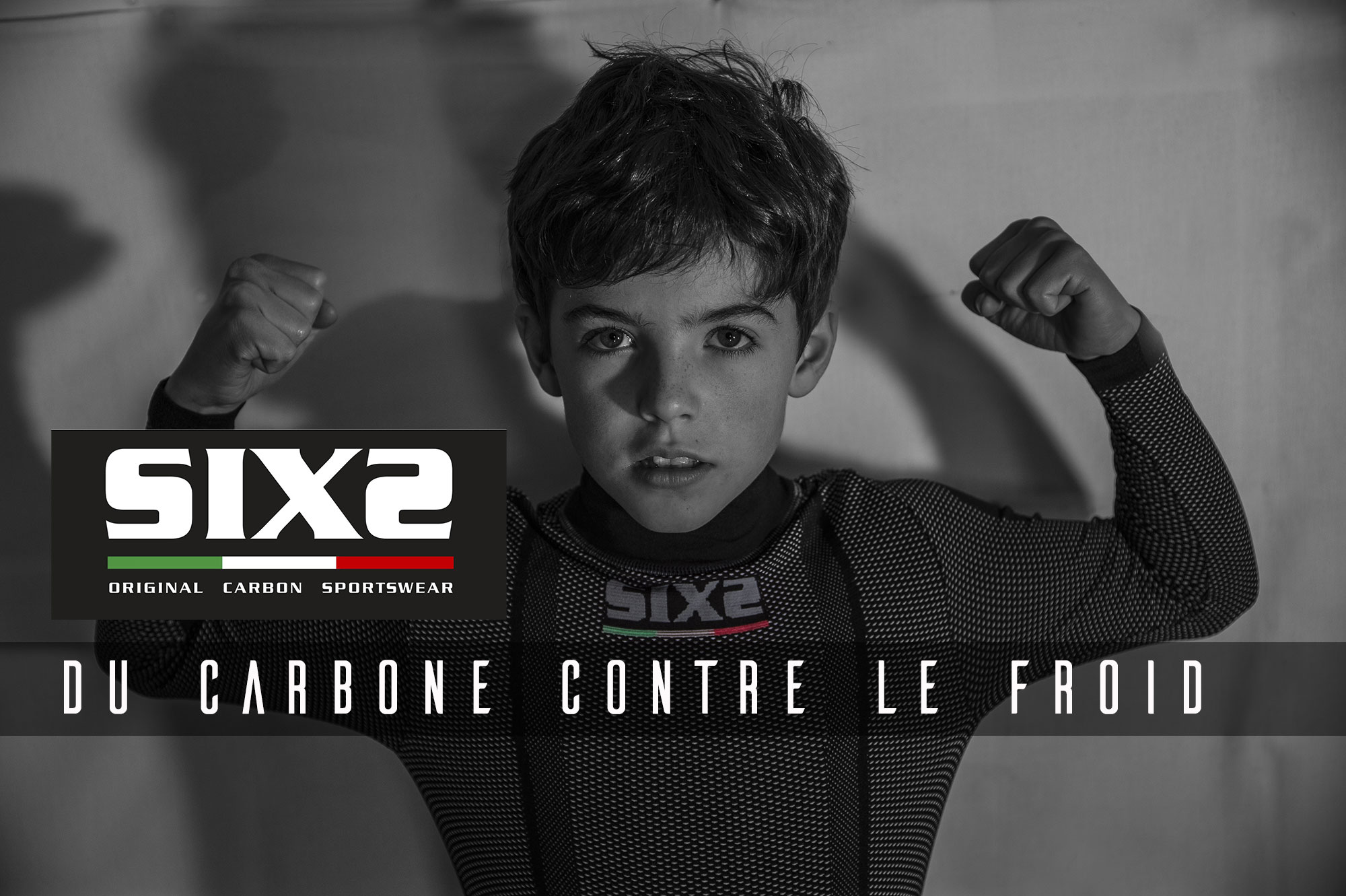 Tu as froid ? Solution: Underwear carbone by SIXS