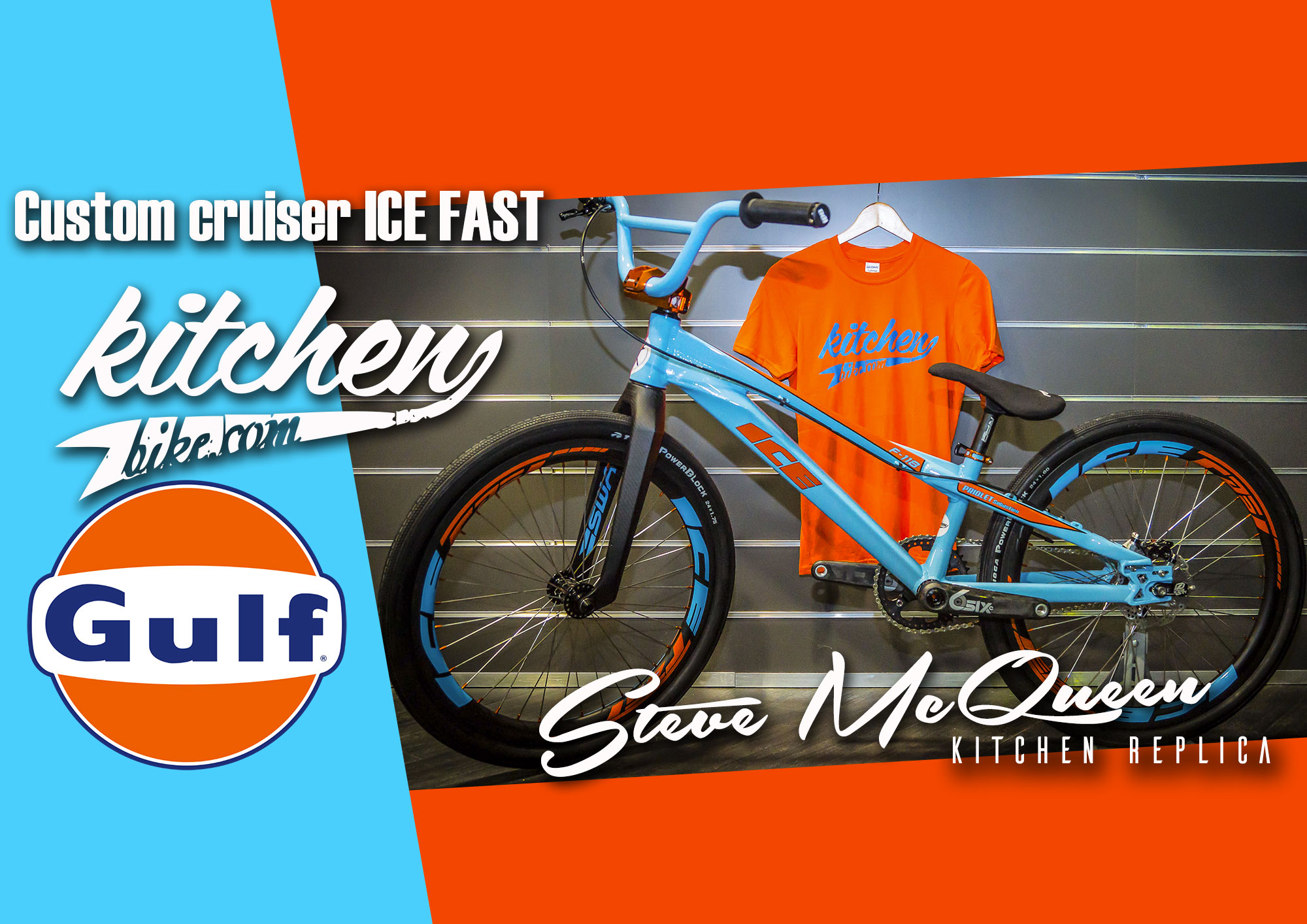 BOMBE: Cruiser ICE « Steve McQueen » by KITCHEN