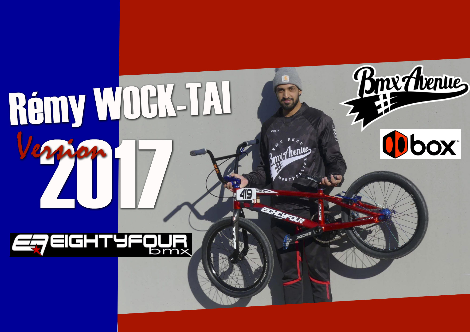 Rémy WOCK-TAI version 2017 !