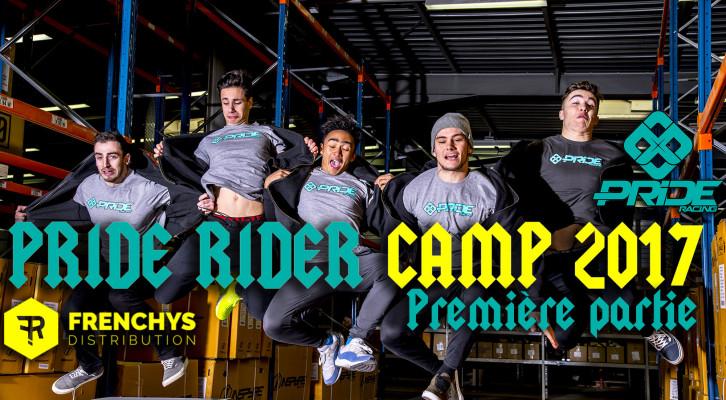 Vidéo: PRIDE RIDER CAMP 2017- PART 1