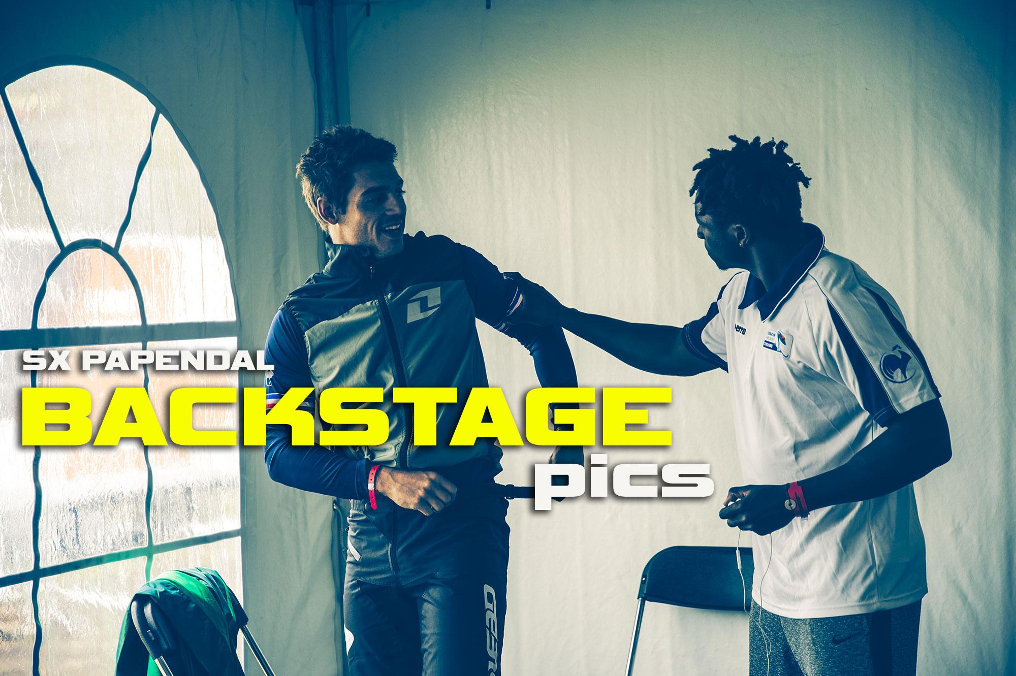 UCI SX BMX PAPENDAL BACKSTAGE