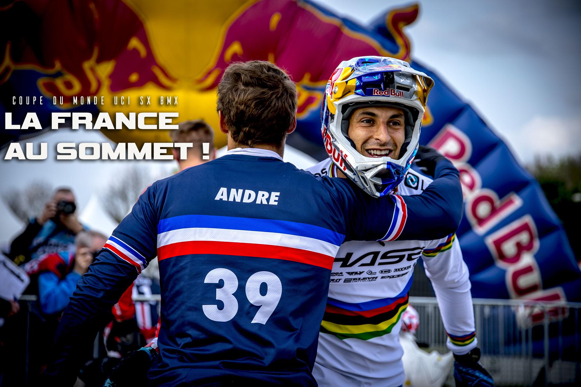 BMX dans le monde: La FRANCE est au sommet !
