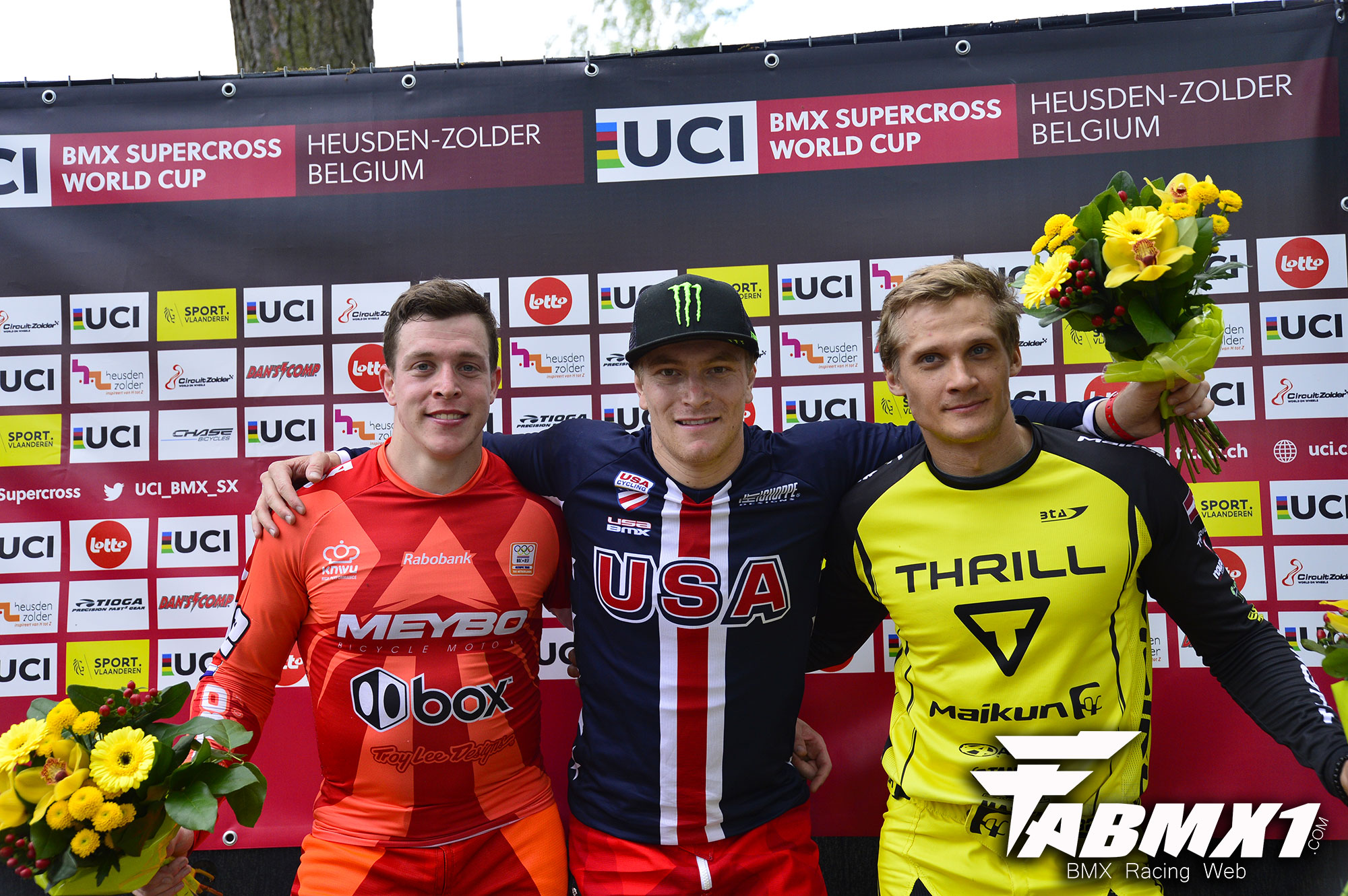 UCI SX RD 3 ZOLDER: Victoire des Champions Olympiques !