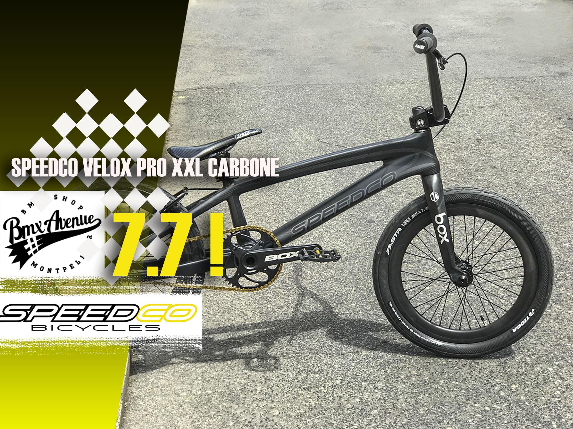 Fabmx1 » Custom SPEEDCO XXL BMX AVENUE=7.7 kg !