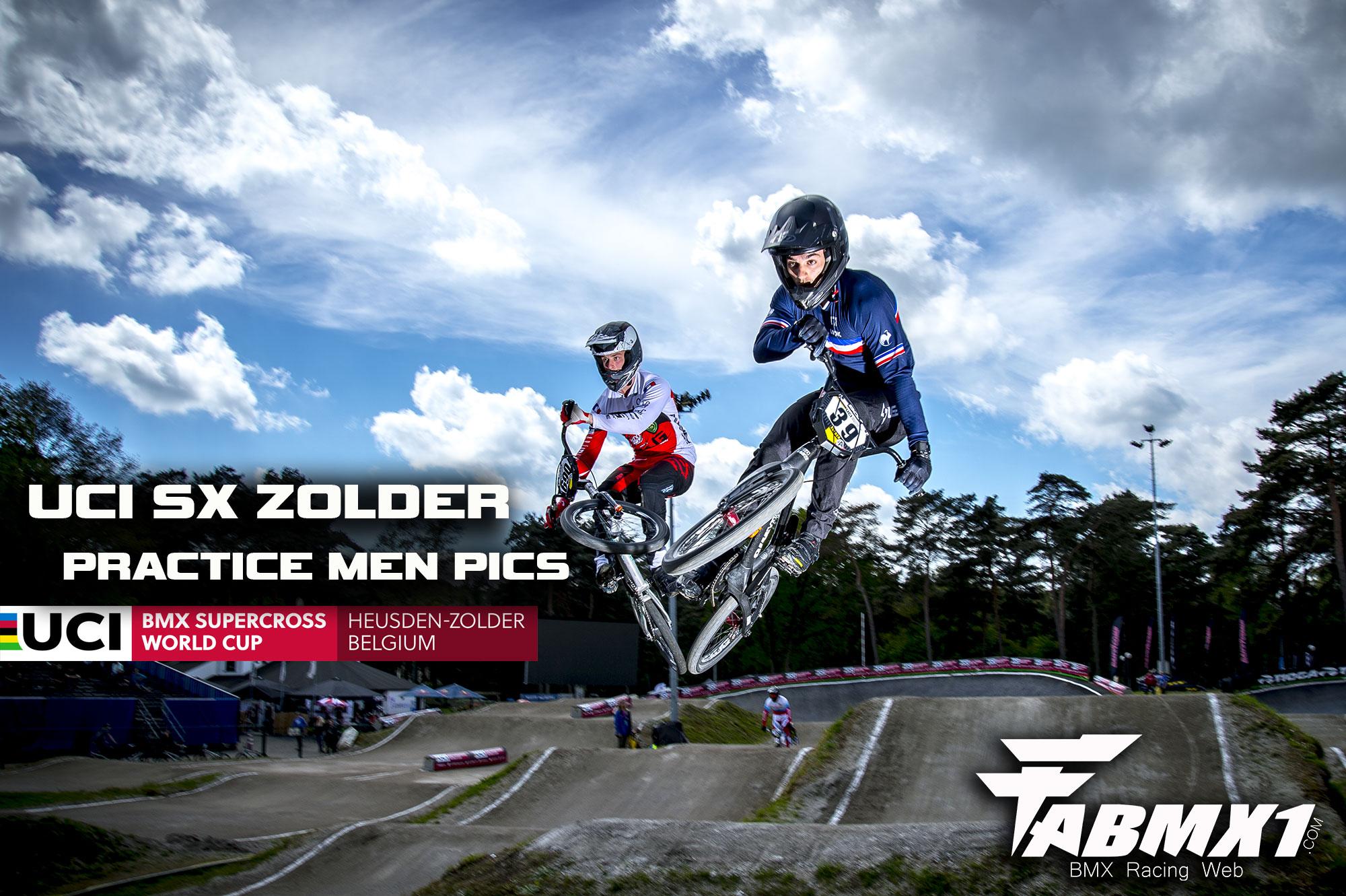 UCI SX ZOLDER Practice Men PICS