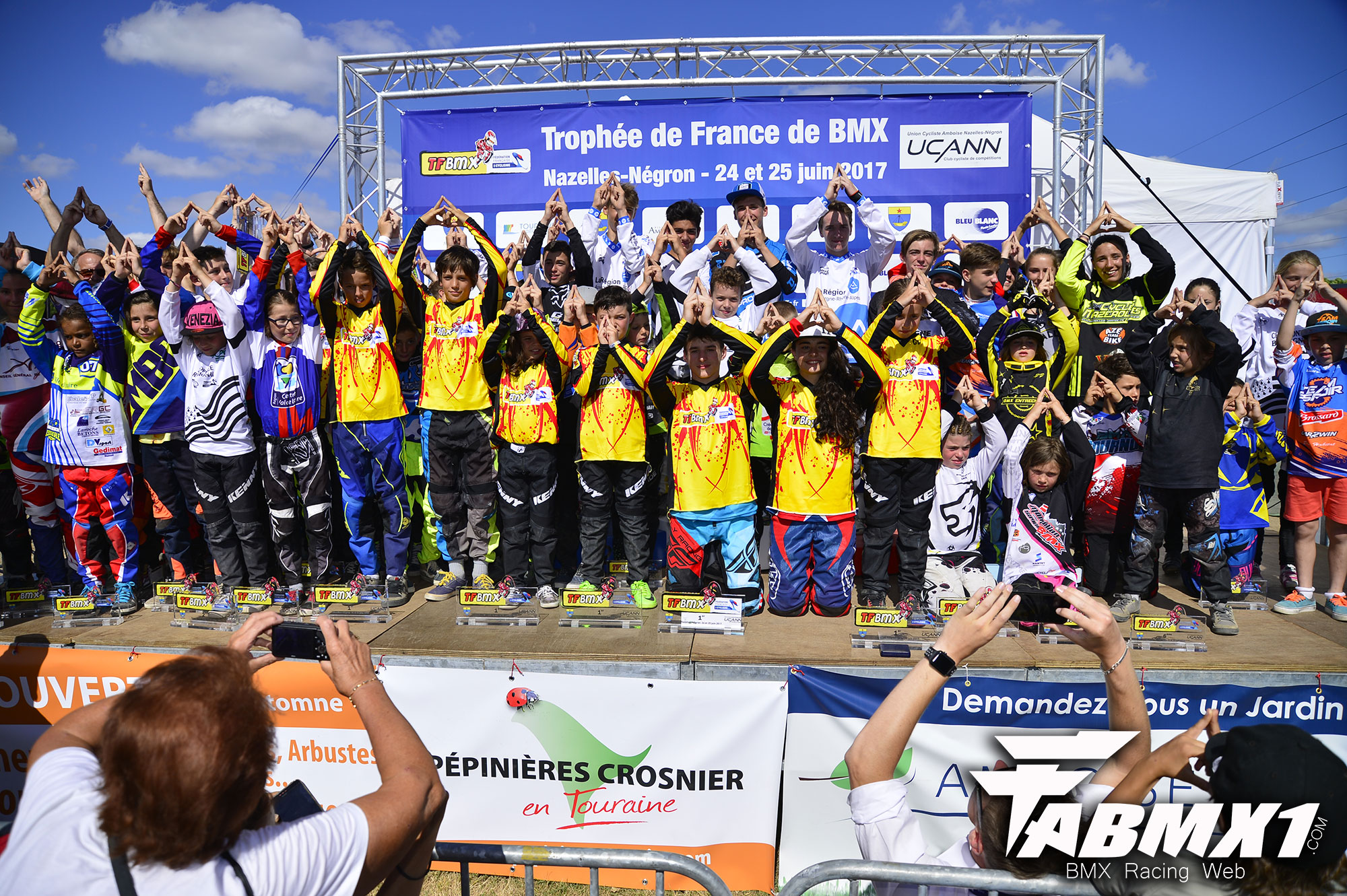 TFBMX 2017 résultats et photos podiums