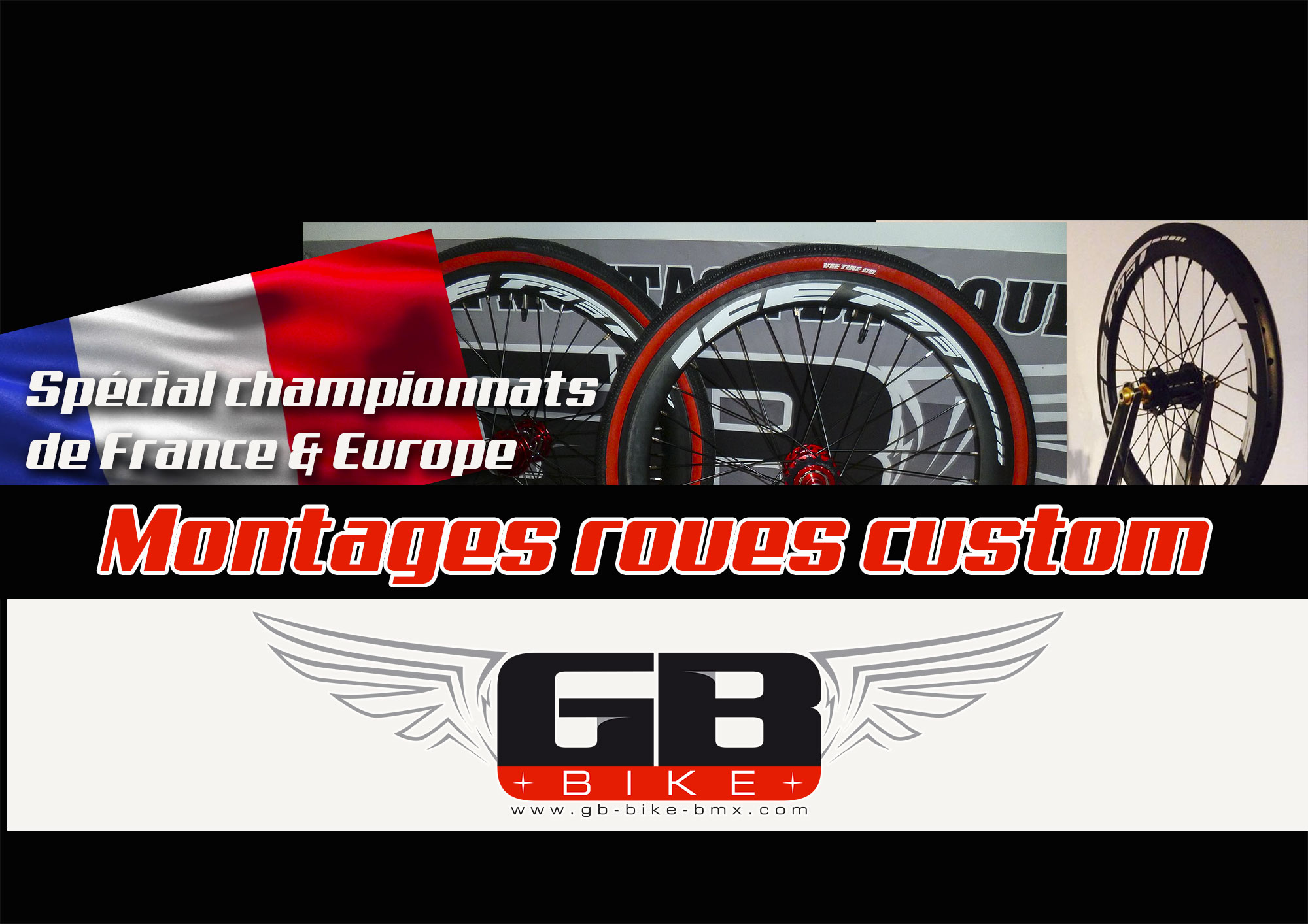 GB BIKE/ Montages roues Custom à Bordeaux