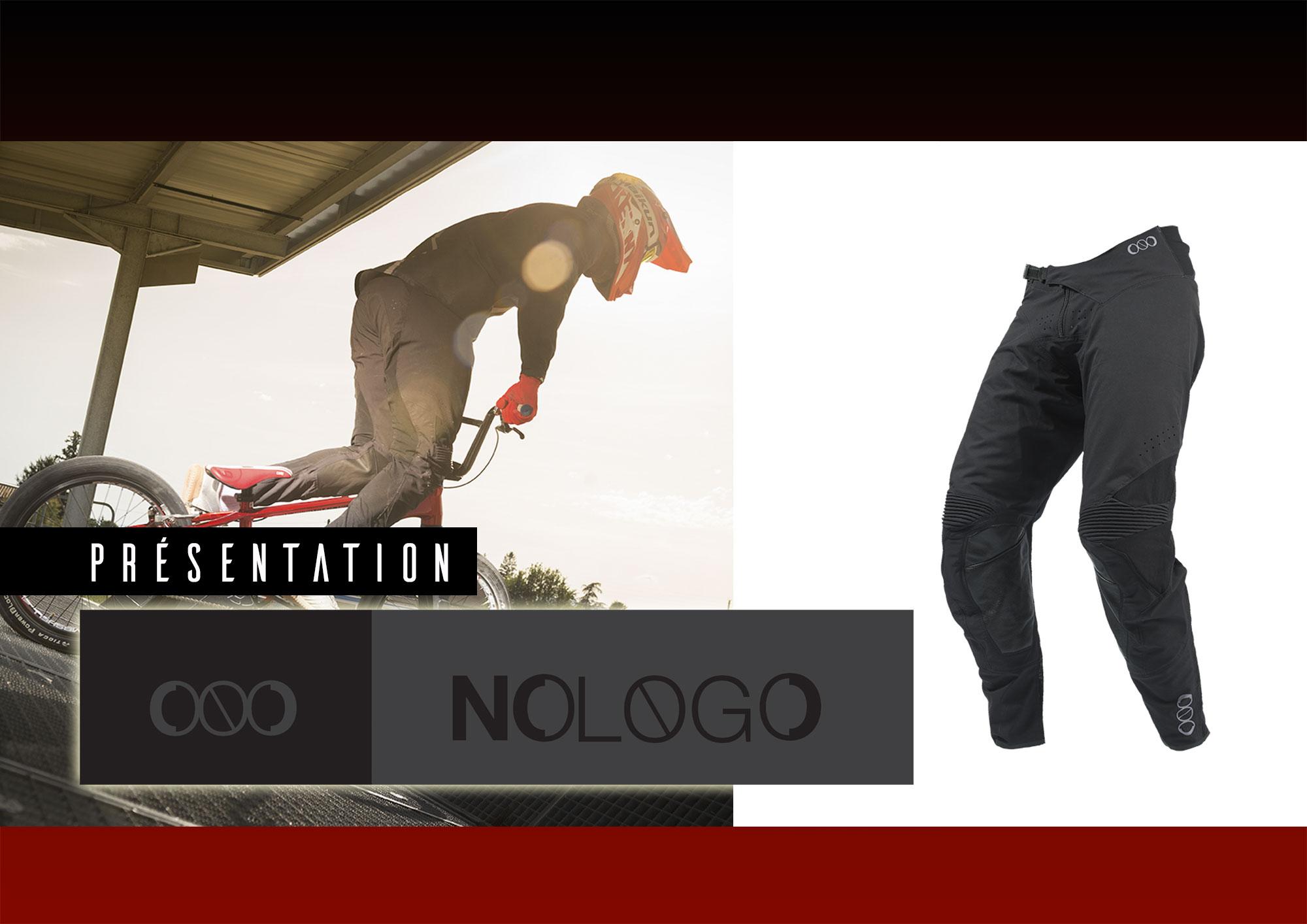 NOLOGO= Nouvelle marque d'équipements pour le BMX