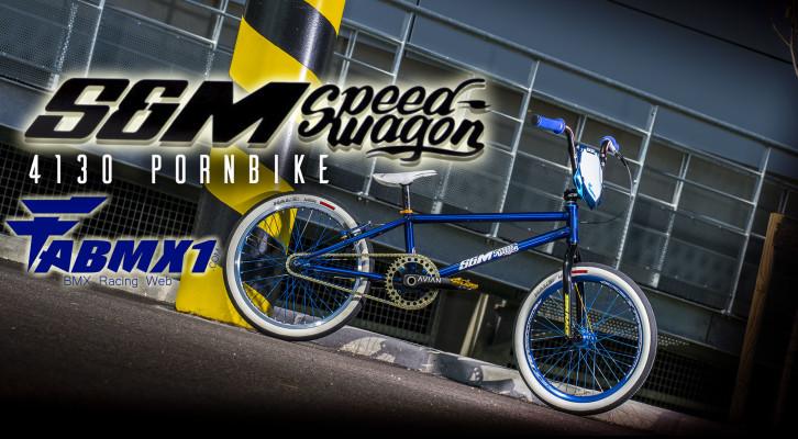 CUSTOM by FABMX1: S&M Speed Wagon 4130 PORNBIKE