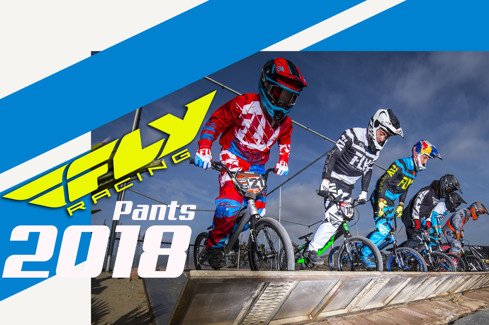 FLY RACING 2018/ Pantalons au top niveau !