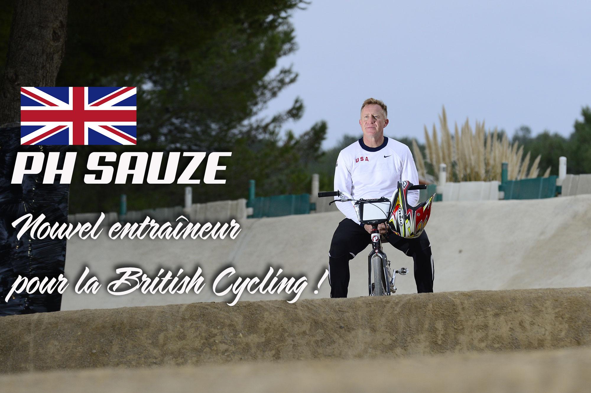 Pierre-Henri Sauze nouvel entraîneur British Cycling !