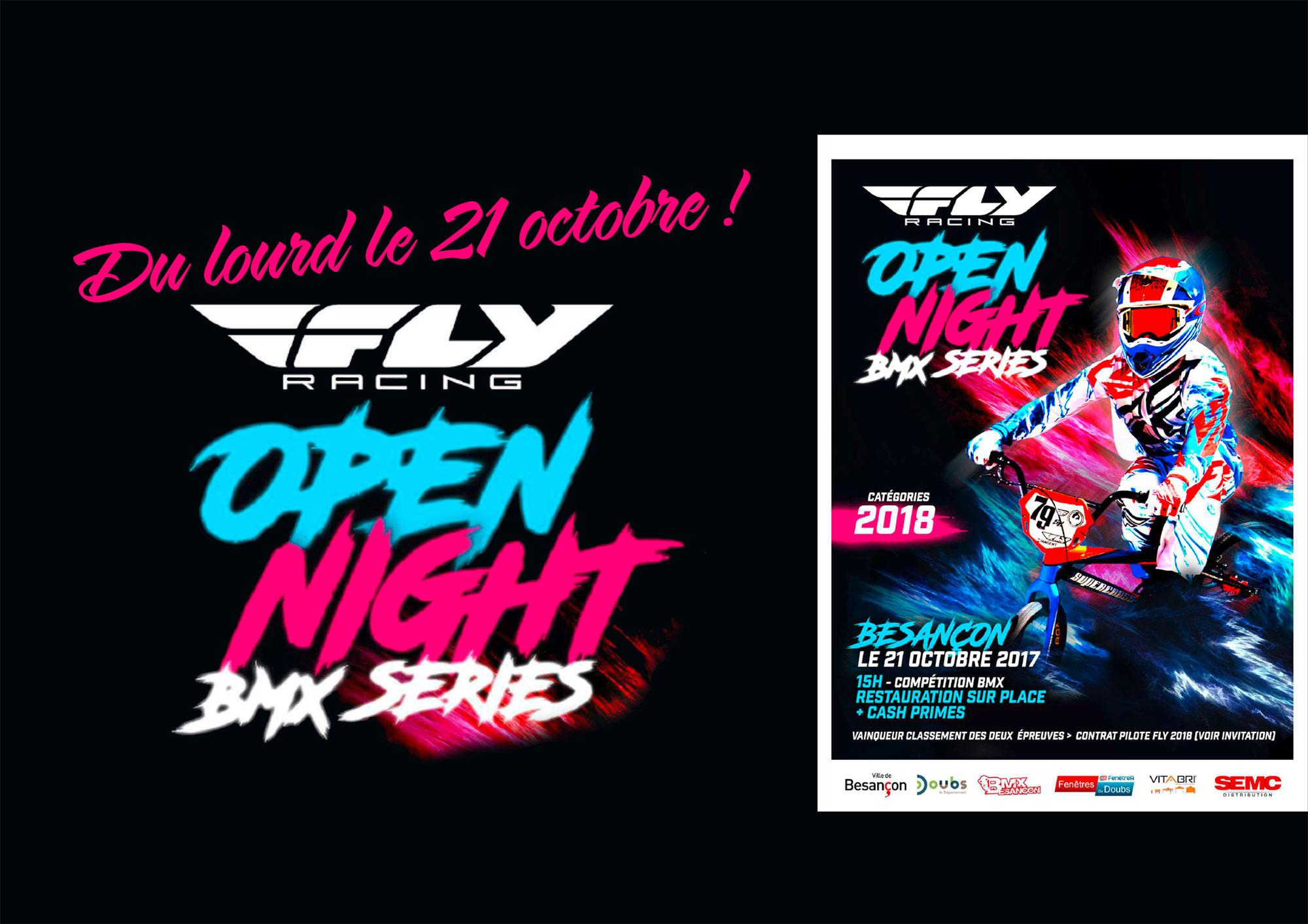 10ème Open Night FLY Series/Dossier d'invitation