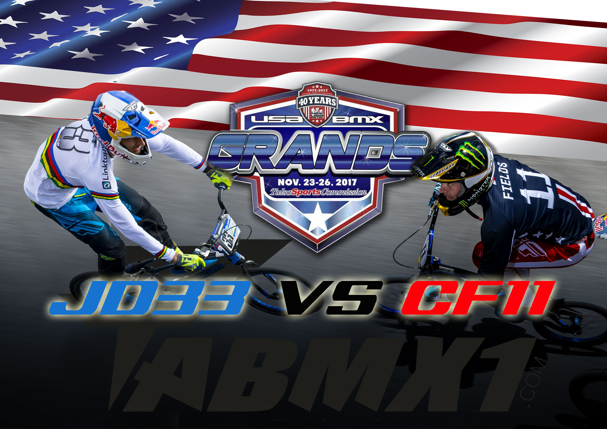 DAUDET VS FIELDS pour les USA BMX GRANDS FINALS !