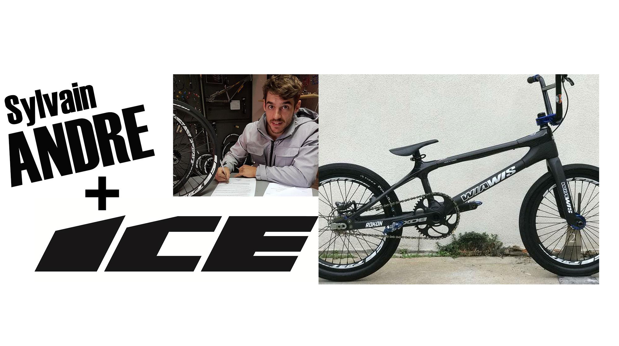 Sylvain ANDRE signe ICE FAST pour les roues