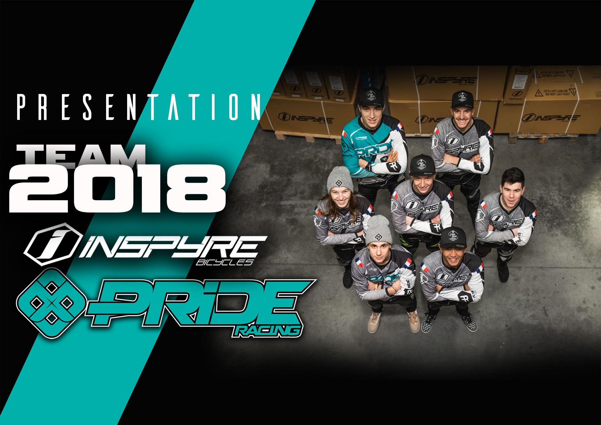 PRESENTATION TEAM PRIDE & INSPYRE 2018