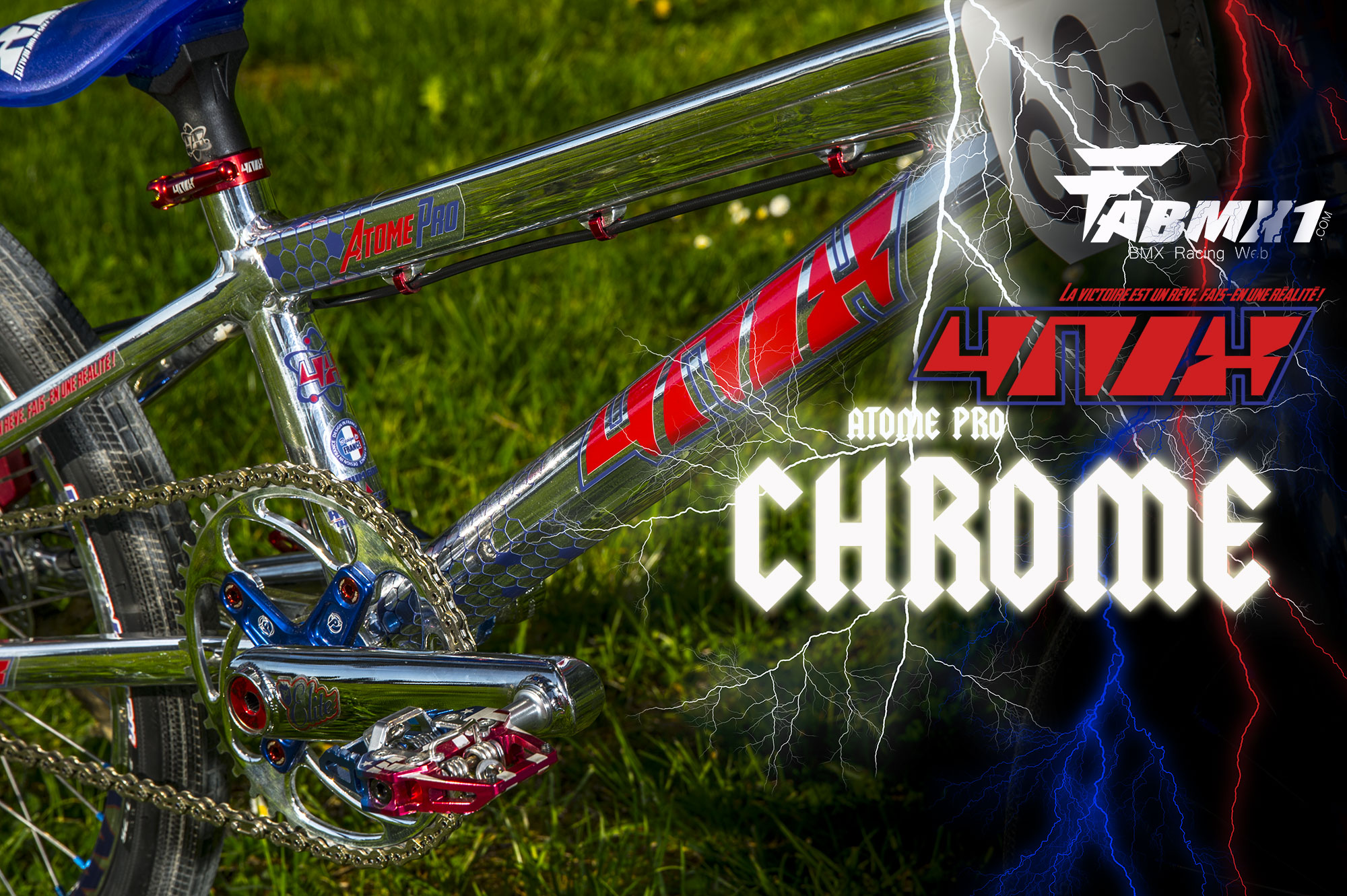 Bike check 4NIX Atome custom « CHROME »