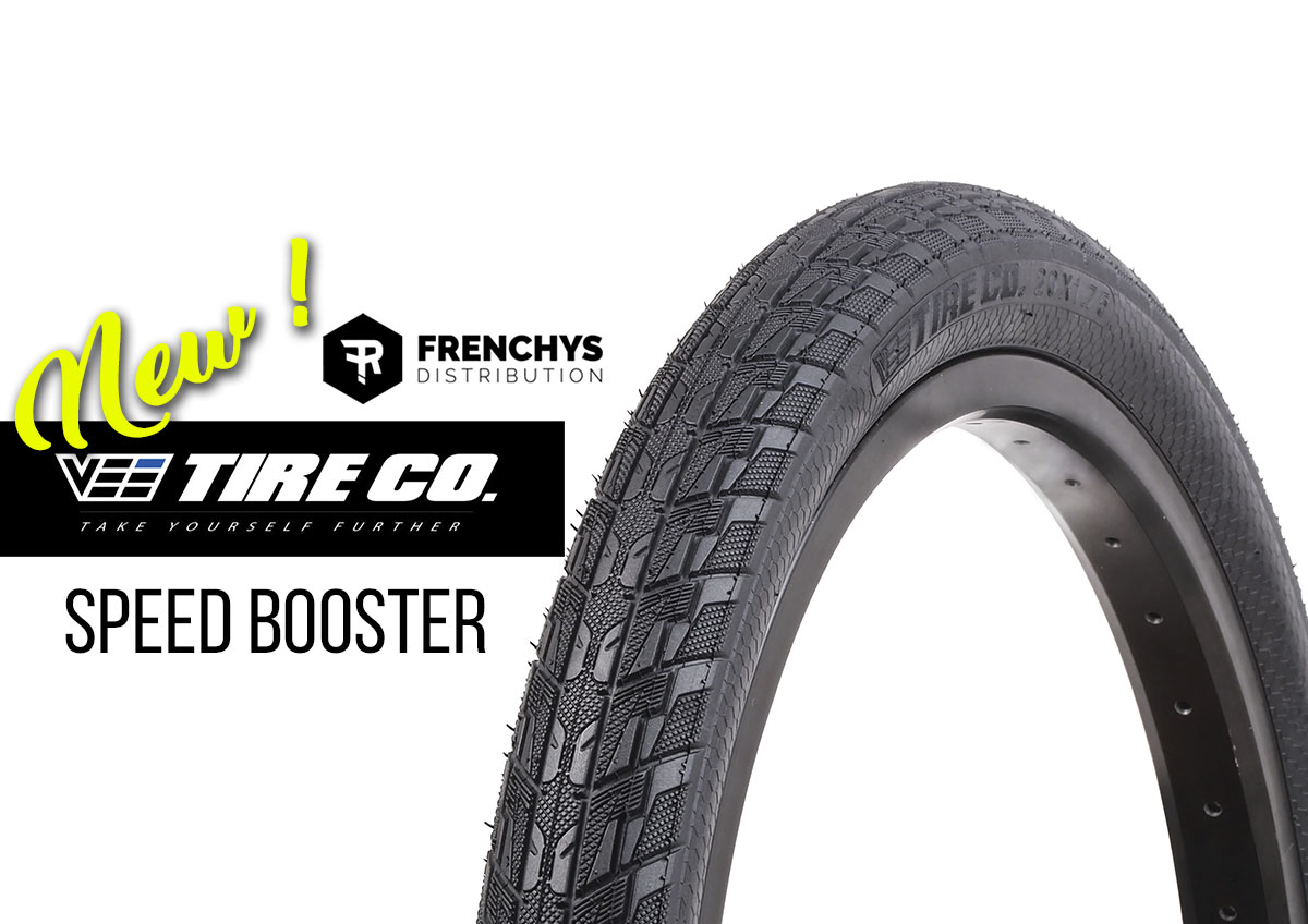 Nouveau pneu VEE Tire Speed Booster
