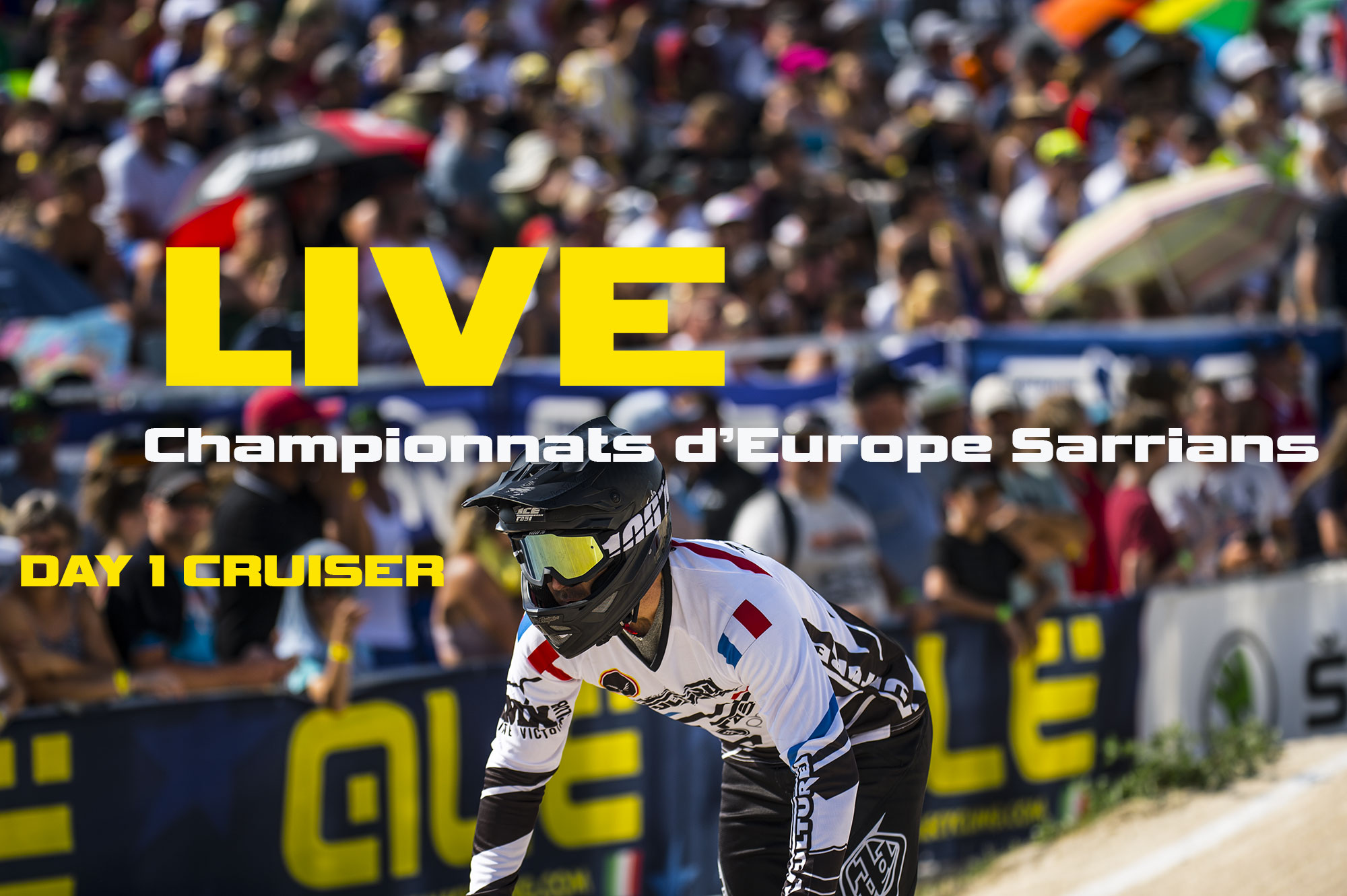 LIVE championnats d'Europe UEC Sarrians day 1