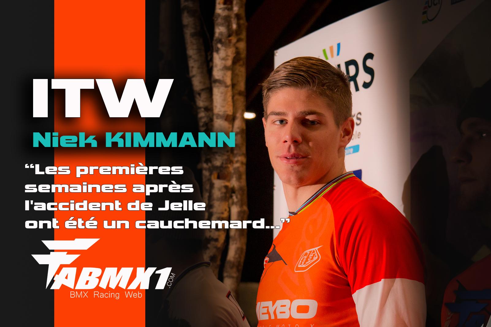 ITW (FR/EN) Niek KIMMANN: Le champion humble