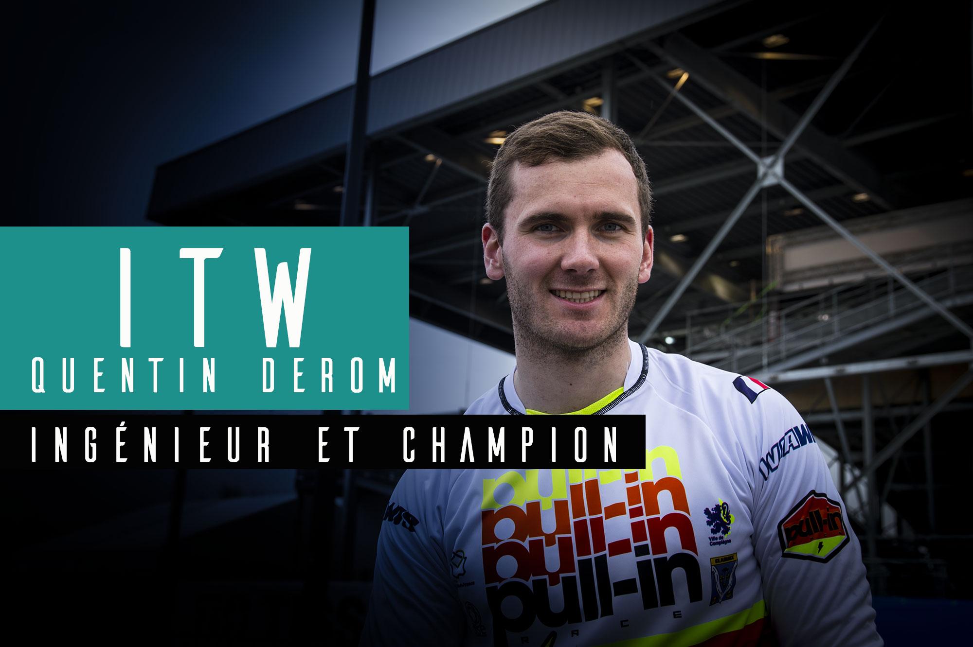 ITW Quentin DEROM: Études+BMX, il a tout compris !