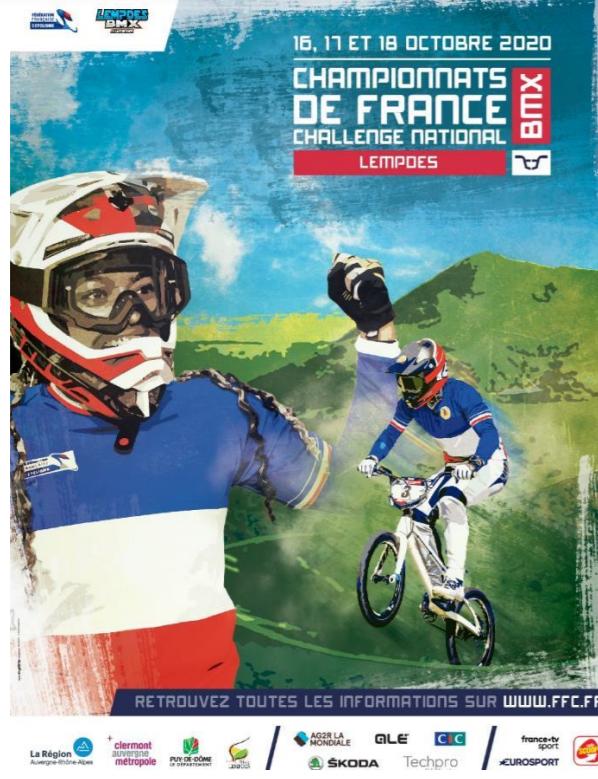 Live Championnat de France BMX Lempdes.