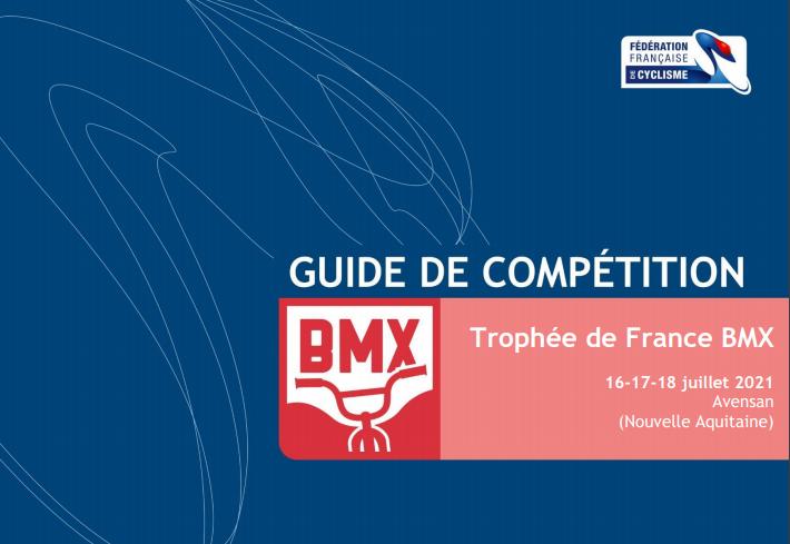 TF BMX Avensan 2021, guide de compétition.